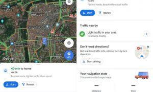 Google Maps puede estar al lado para recibir el nuevo Material Design