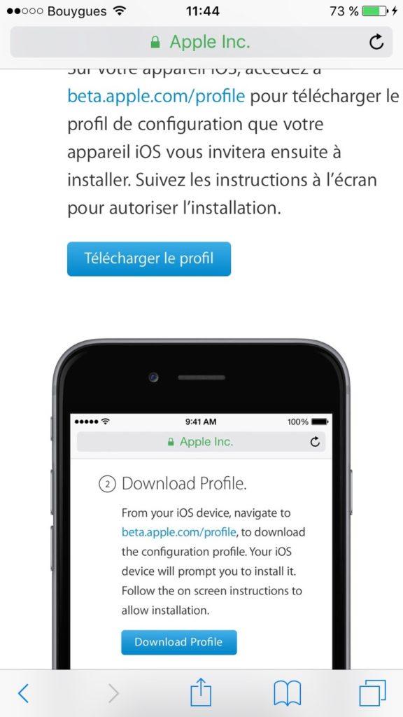 Instalar iOS 10 beta public 3