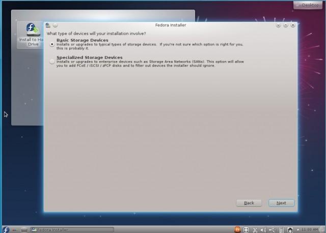Fedora 17 KDE, instalación en un disco duro vacío 3