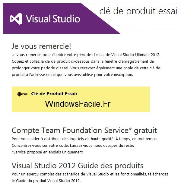 Visual Studio 2012: amplía el periodo de evaluación 7