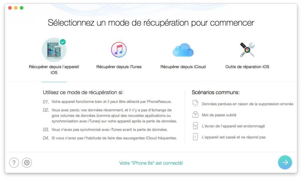 Recuperar datos borrados en iPhone / iPad / iPod 2