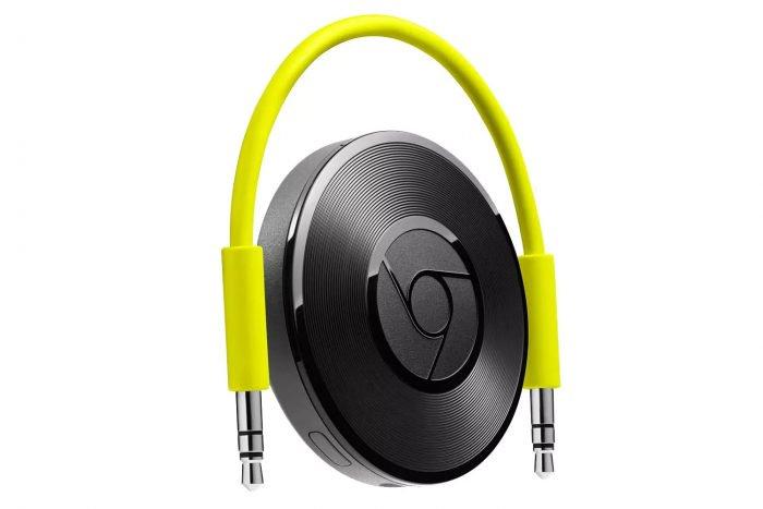 Google cancela la producción de Chromecast Audio 1