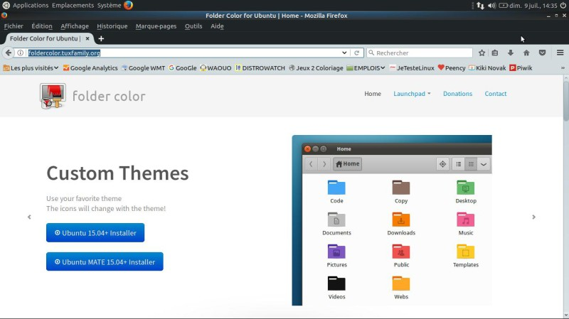 Ubuntu Mate - Cambiar la apariencia 9