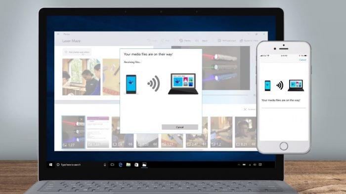 Microsoft lanza una aplicación para transferir fotos desde iOS y Android a su PC 1