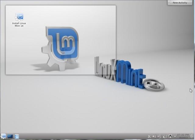 Linux Menta KDE 14 1