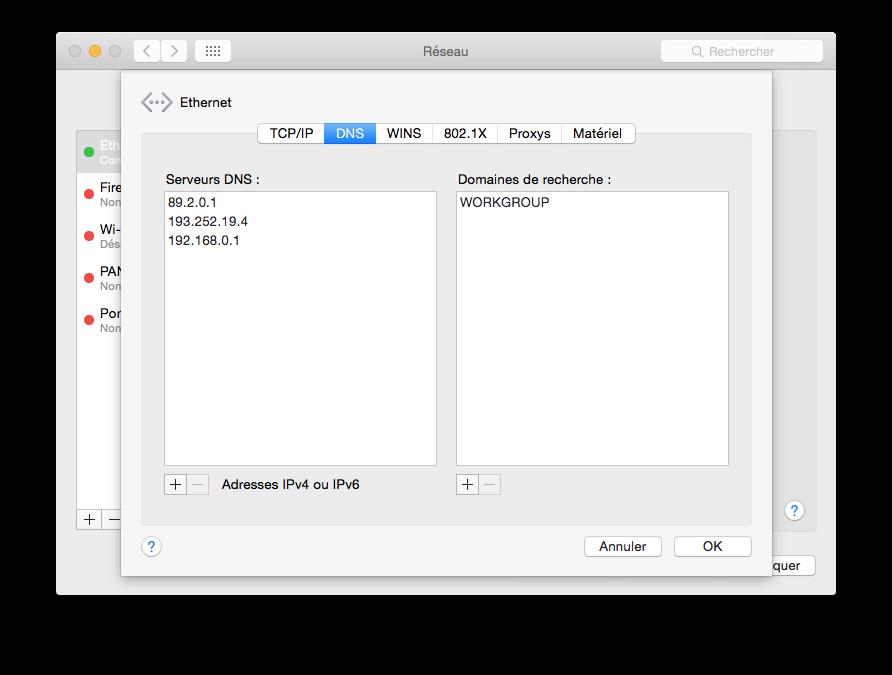 DNS Yosemite: encuentre el más rápido para acelerar el Internet 6
