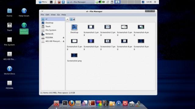 Vector Linux 7.0 en Live-CD 10