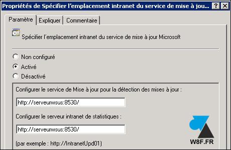 Enlazar estaciones de trabajo cliente con el servidor WSUS 5