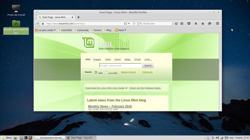 Uso de Linux Mint Mate 9