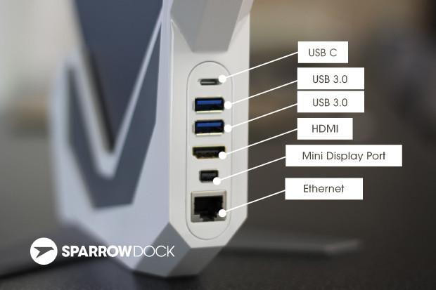 Sparrow Dock: la solución para el MacBook de 12 pulgadas 3