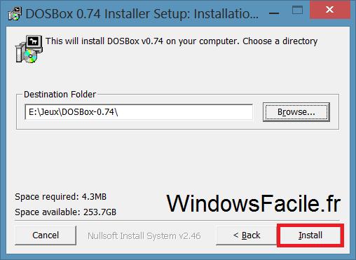 Windows 8: Juegos de DOS 6