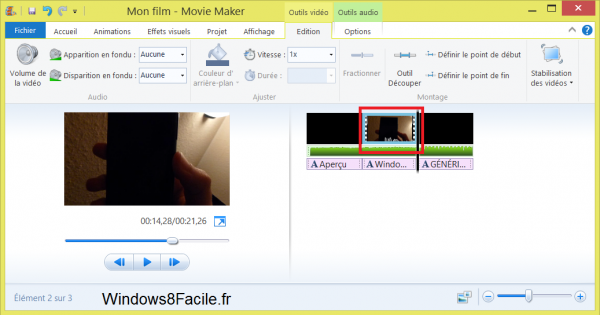 Edición de vídeo con Windows Movie Maker 17