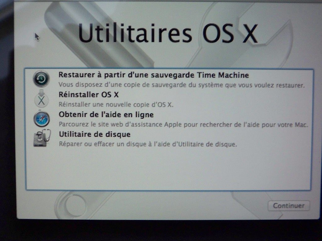 Cómo eliminar Yosemite (Mac OS X 10.10) 1