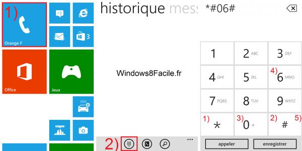 Windows Phone: muestra el número IMEI del smartphone 2