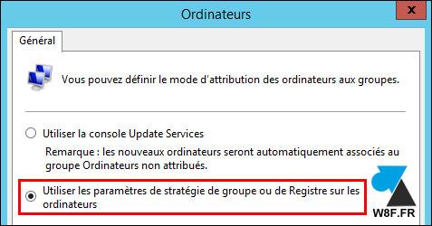Enlazar estaciones de trabajo cliente con el servidor WSUS 3