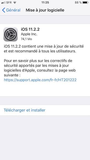 iOS 11.2.2.2.2: Actualización de iPhone, iPad, iPod touch (IPSW) 3