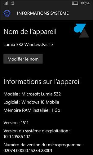 Actualización de Windows Phone 8 a Windows 10 Mobile smartphone 9