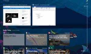 La vista previa de Windows 10 ofrece una línea de tiempo y organiza las aplicaciones en pestañas