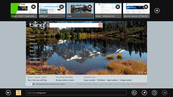 Microsoft demuestra Windows 8 Developer Preview 4