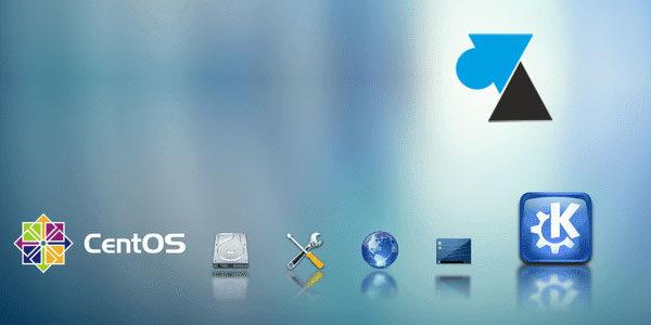CentOS: eliminar el entorno gráfico de KDE 1