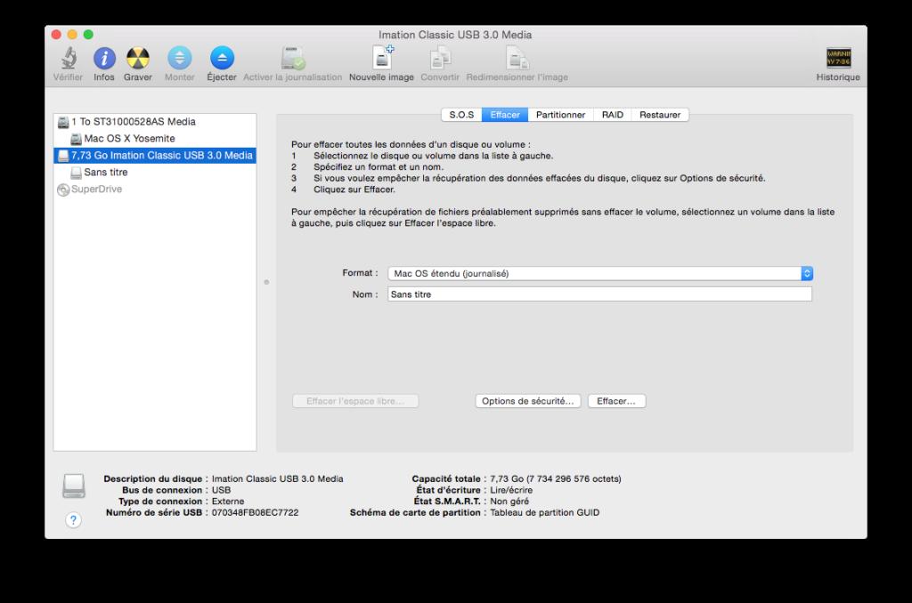 Instalación limpia de Mac OS X El Capitan (10.11) 4