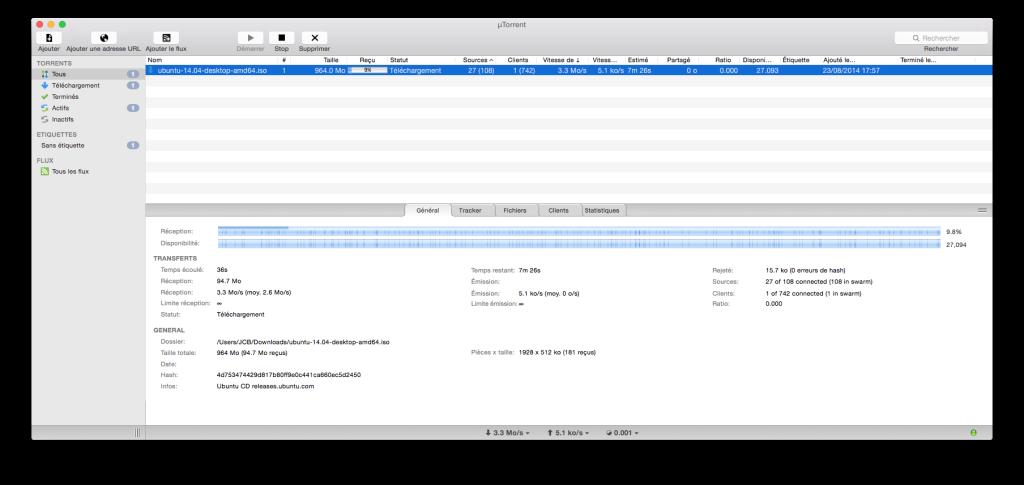 Configuración de uTorrent Yosemite en 7 pasos (Mac OS X 10.10) 12