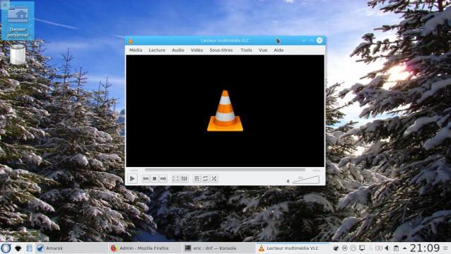 Fedora 27 con KDE 11