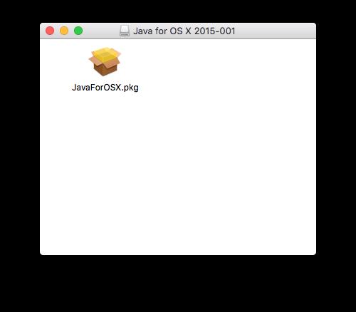 Instalar Java El Capitan (Mac OS X 10.11) 2
