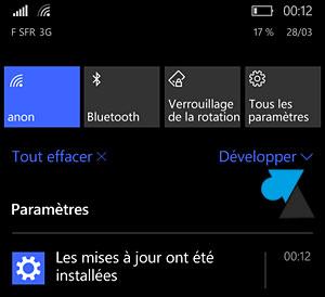 Actualización de Windows Phone 8 a Windows 10 Mobile smartphone 8