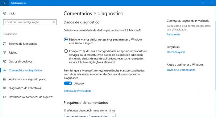 Microsoft es demandada en Brasil para suspender la recolección de datos en Windows 10 4