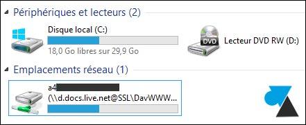 Conectar una unidad de red a una cuenta OneDrive / SkyDrive 10