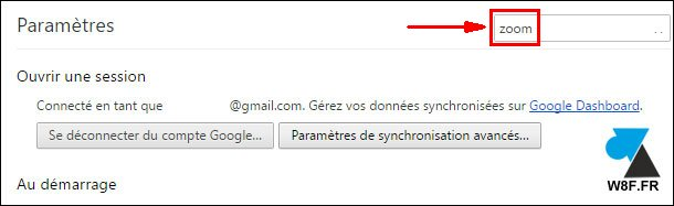 Google Chrome: Ampliar páginas web 3
