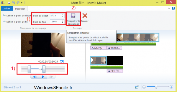 Edición de vídeo con Windows Movie Maker 16