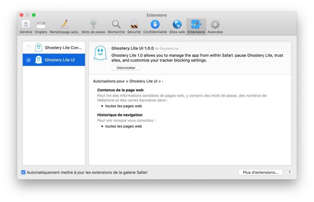 Instalar una extensión de Safari en Mac (OS X / macOS) 5