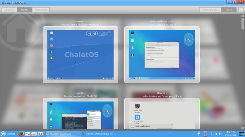 ChaletEs una distribución de Linux a probar 6