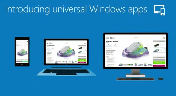 Con las aplicaciones universales para Windows, la misma aplicación puede ejecutarse en su smartphone, tableta y escritorio.