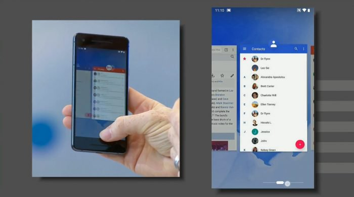 Android P gana gestos en la interfaz y características de inteligencia artificial 2