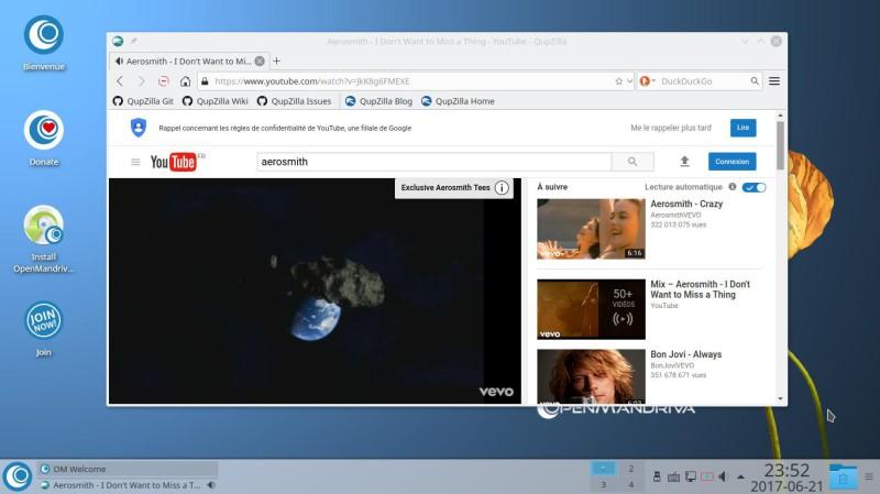 Prueba de OpenMandriva Lx 3.02 con el entorno de escritorio Plasma 5.9.5 11