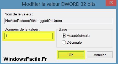 Windows 8: evitar el reinicio automático 11