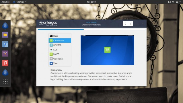 Instala Antergos 17.10 y elige tu entorno de escritorio 7