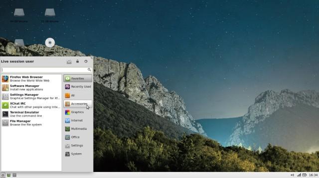 Linux Mint 15 con XFCE 2