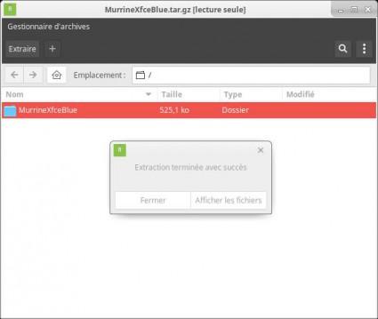 Cambiar el tema y los iconos en Xubuntu 22
