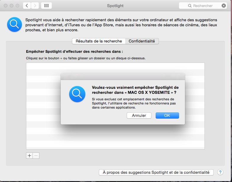 Cómo configurar Spotlight Yosemite (Mac OS X 10.10) 9