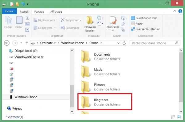 Windows Phone 8: tonos de llamada personalizados 3