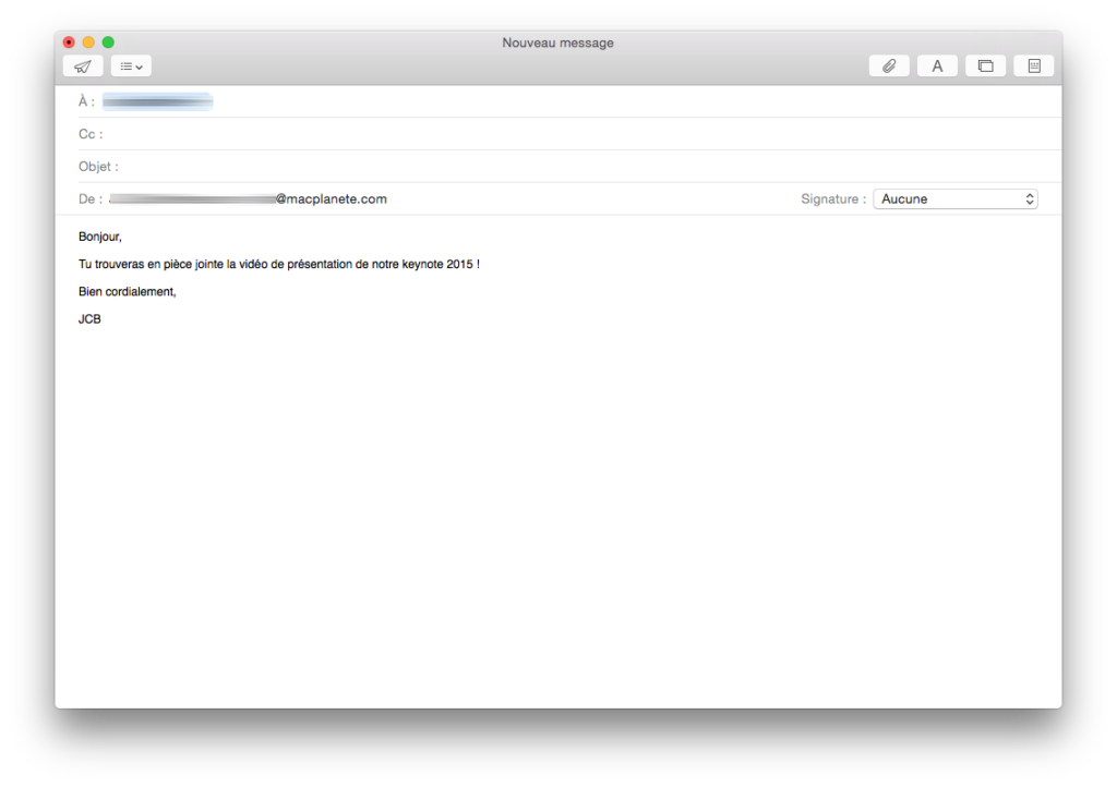 Descarga de correo: Envía un archivo adjunto de 5 GB con Apple Mail / iCloud Mail 1