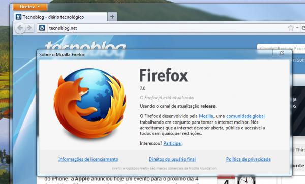 Firefox 7 promete un consumo eficiente de RAM 1