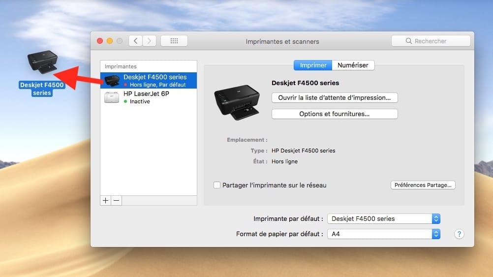 Imprimir un archivo en Mac (Finder, app, atajo) 6