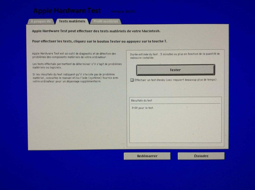 Prueba tu Mac con Apple Hardware Test / Apple Diagnostics 2