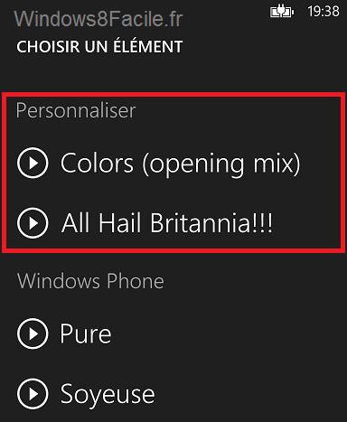 Windows Phone 8: tonos de llamada personalizados 8