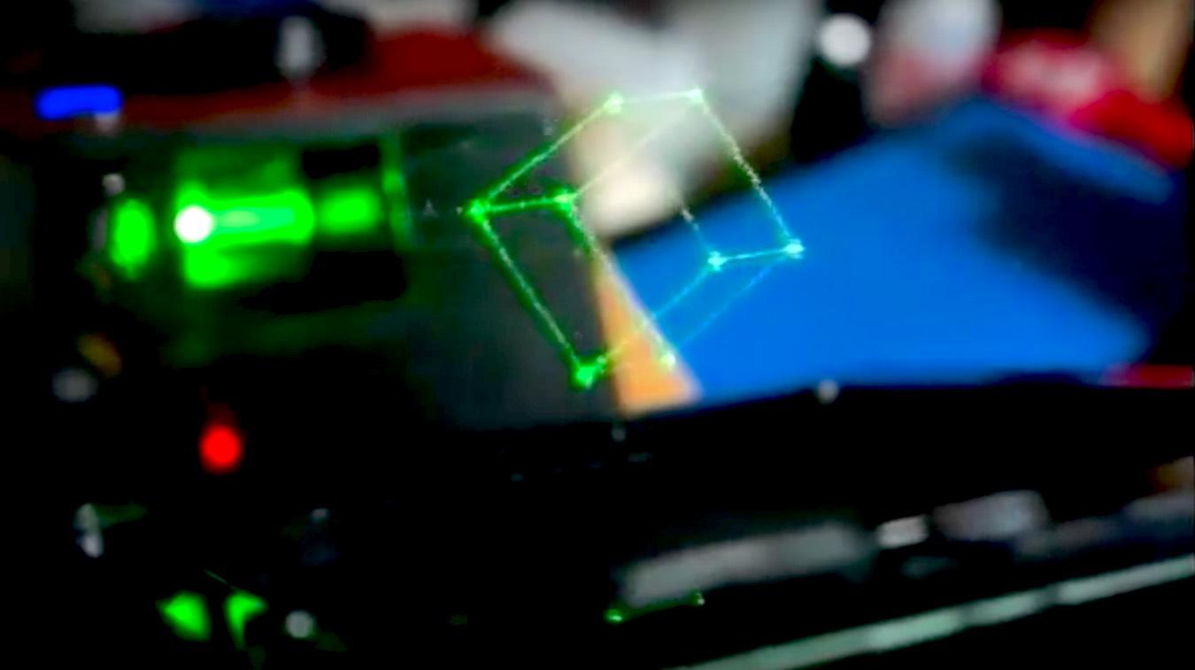 Un proyector holográfico de Star Wars está en Kickstarter 1
